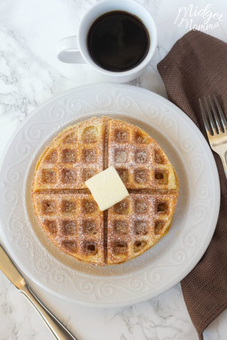 how to make belgian waffles