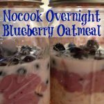 This no-cook overnight blueberry oatmeal is a super simple way to start off your day right. It has a great different texture that your normal oatmeal.