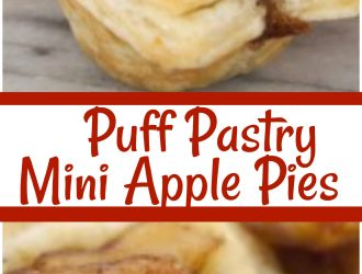 mini apple pie, mini apple pie filling, easy apple pie