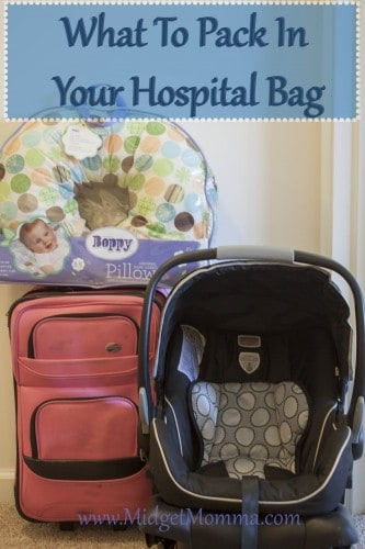 Hospital Bag when Having a Baby