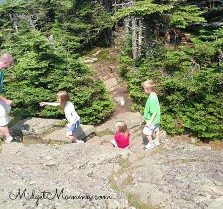 hiking killington vermont