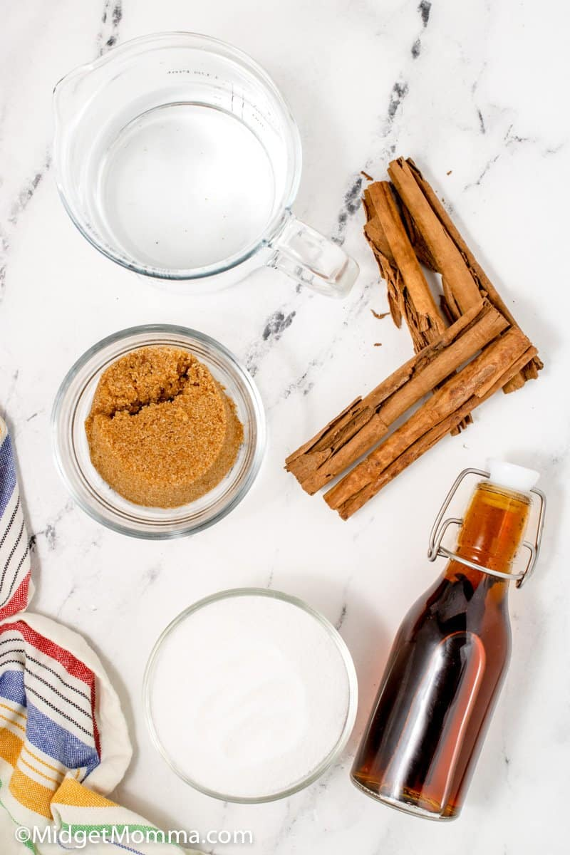 cinnamon dolce syrup ingredients