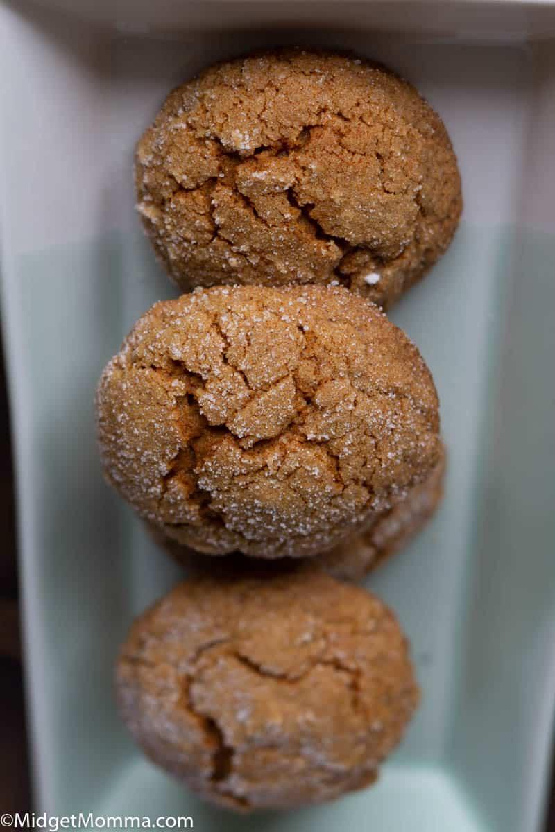 Pumpkin Ginigersnap Cookies