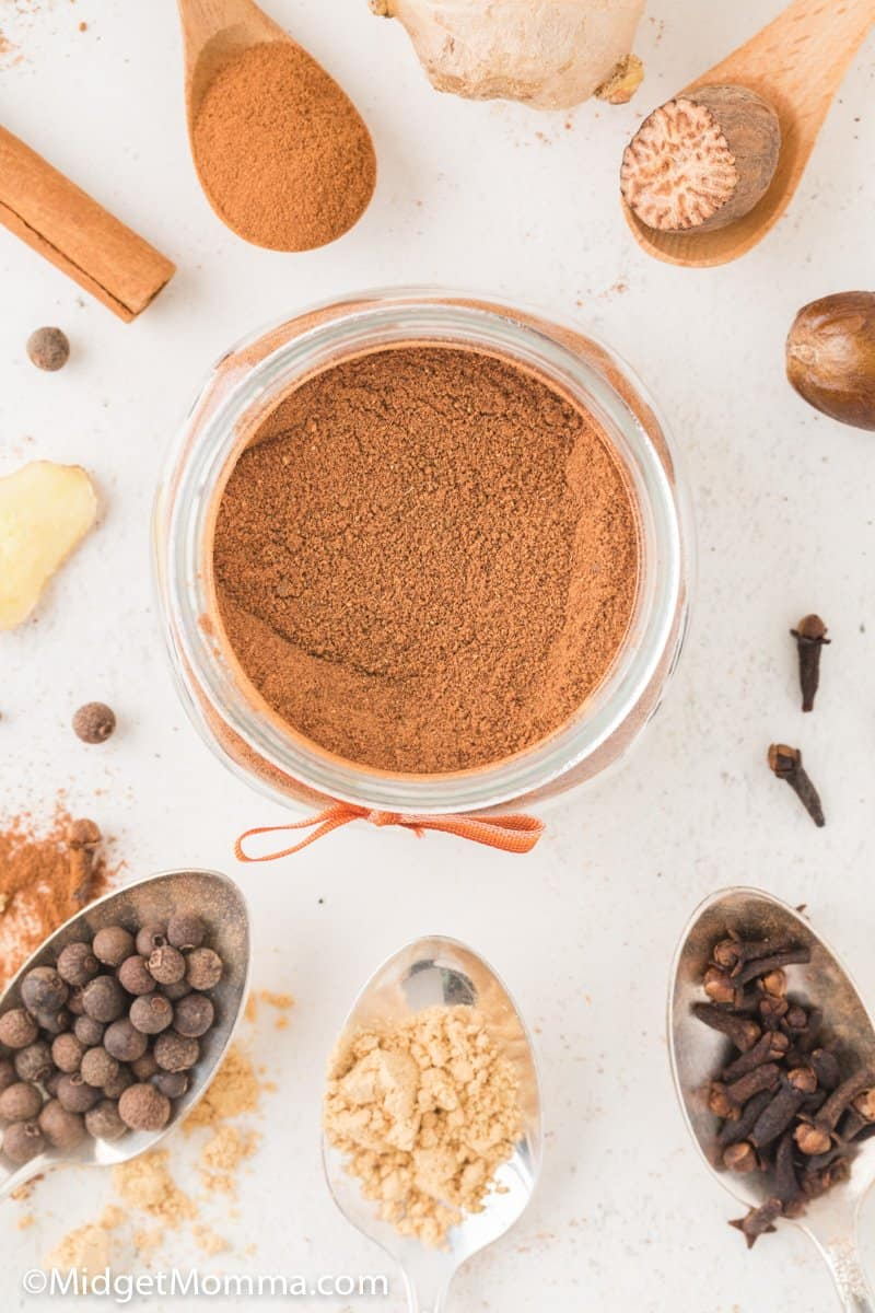 Jar of Pumpkin Spice Recipe