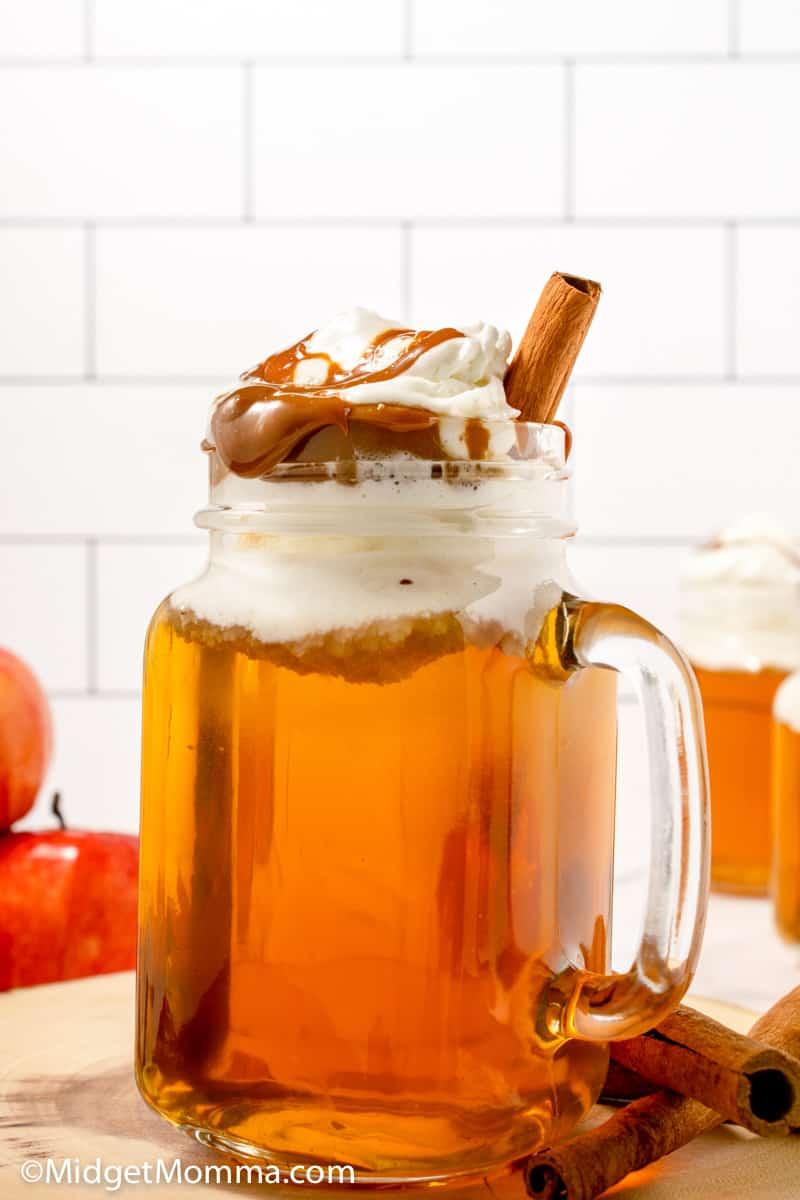 copycat starbucks apple caramel spice drink