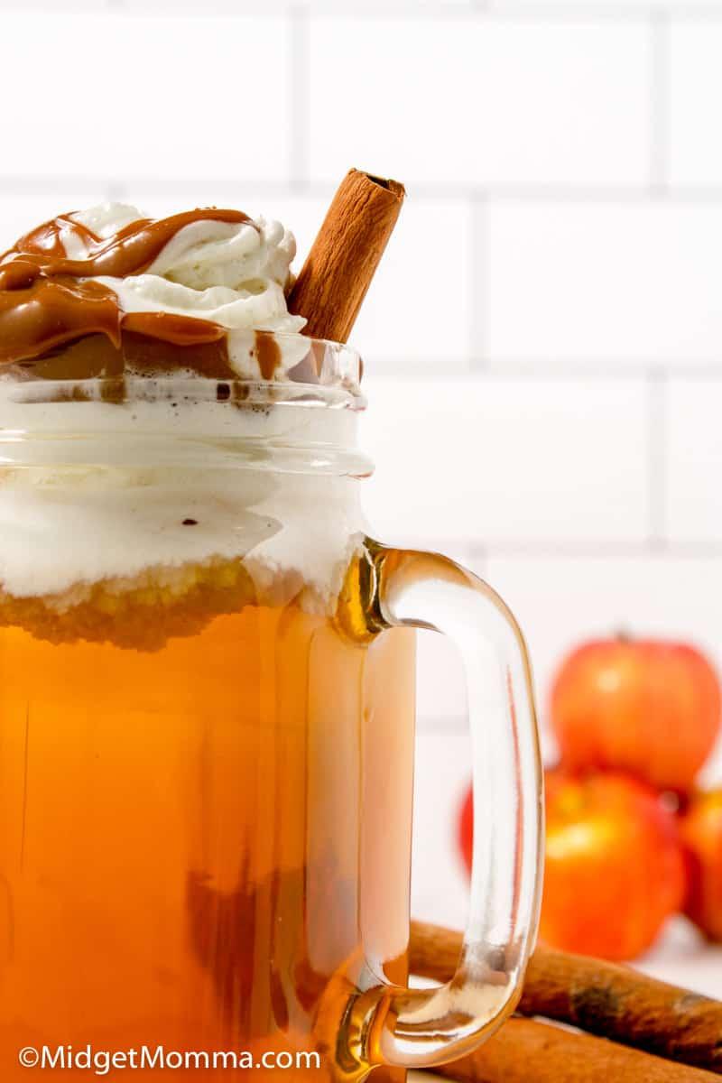 Starbucks Caramel Apple Spice Recipe close up