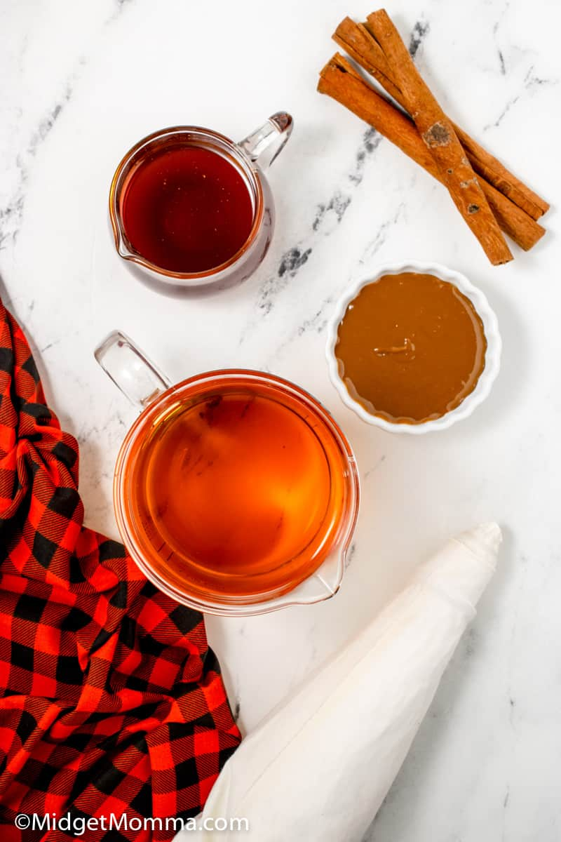 Starbucks Caramel Apple Spice Recipe ingredients