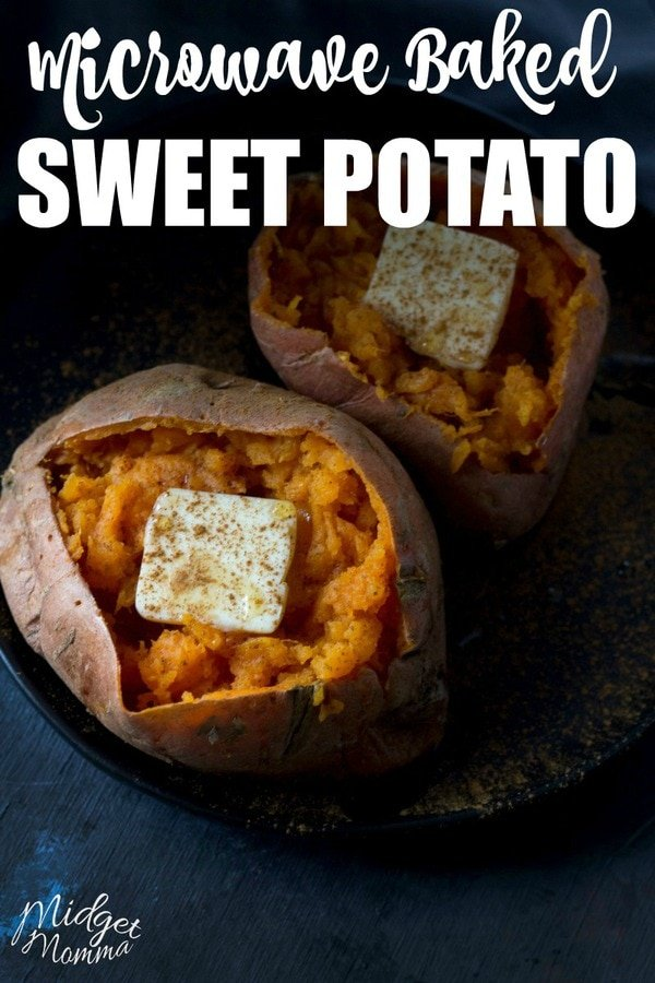 Microwave Sweet Potato. Get the amazing taste of baked sweet potatoes but quicker using the microwave with Microwave baked Sweet Potatoes!