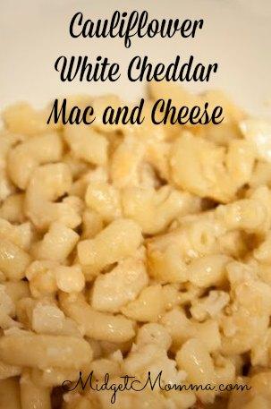 ... mac and cheese ingredients 1 box uncooked elbow macaroni 1 cauliflower