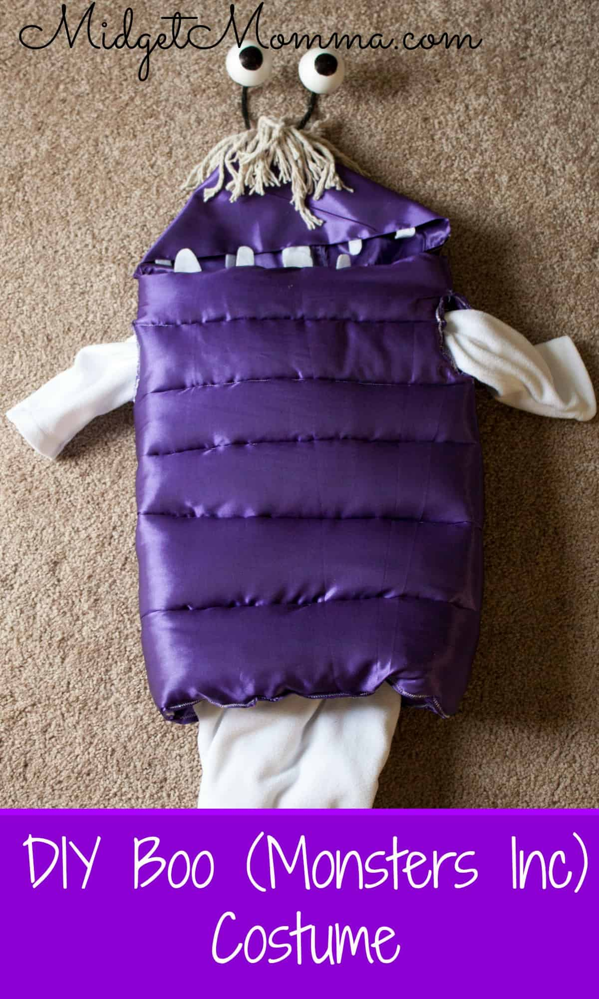DIY Boo Monsters Inc costume