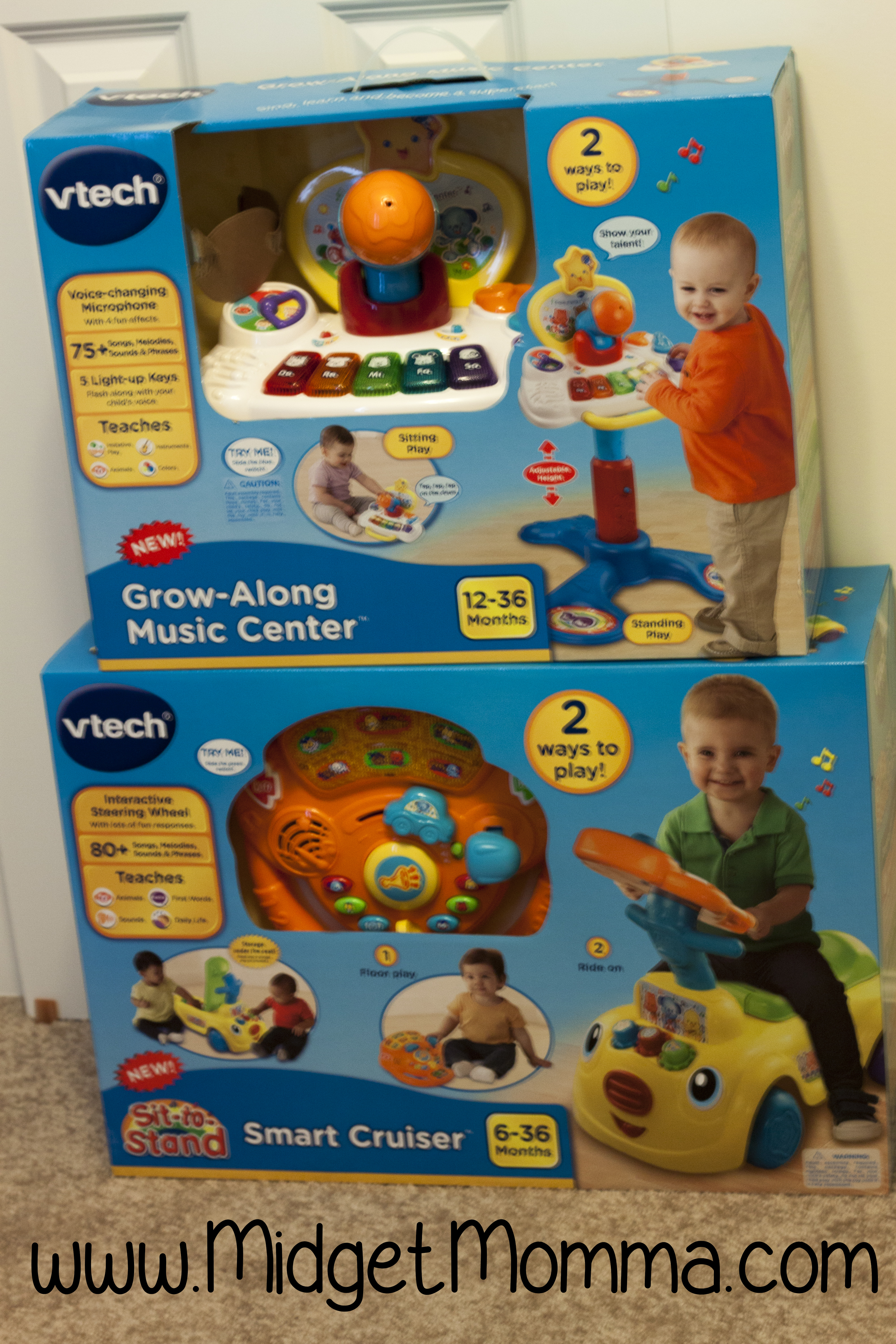 Vtech Grow With Me Toys Review