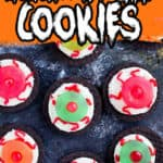MONSTER EYE BALL COOKIES