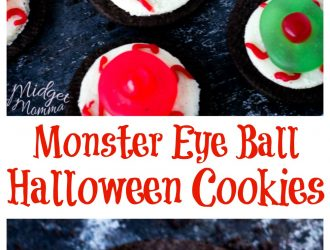 Easy Monster Eye Ball Halloween Cookies