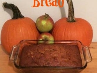 Pumpkin Apple Bread