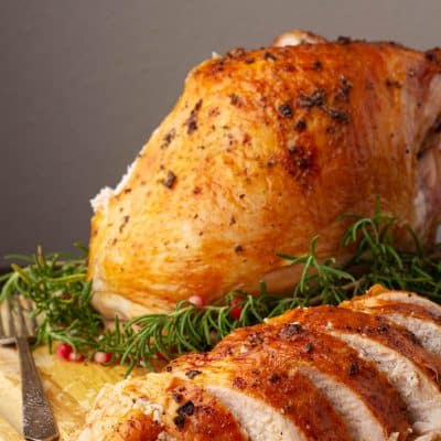 Easy Oven Roasted Turkey Breast Recipe