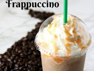 Salted Caramel Frappuccino Copycat Recipe