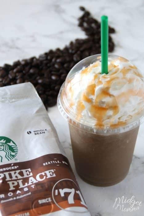 Salted Caramel Frappuccino Starbucks