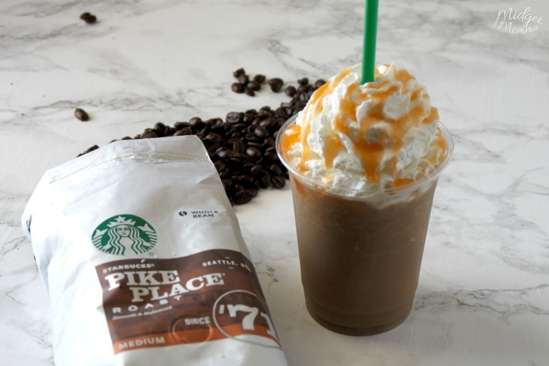 Salted Caramel Frappuccino Starbucks