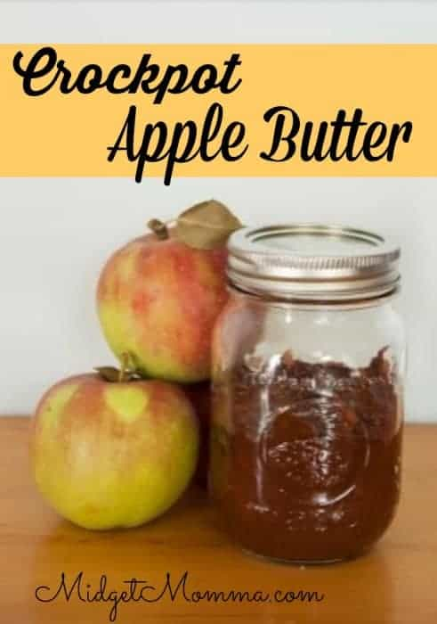 Crock Pot Apple Butter is easy to make and tastes great on breads and english muffins or just eat it straight from the jar!