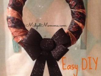 Easy DIY Halloween Wreath