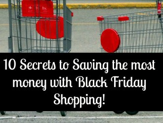 10 Secrets to Saving the most money with Black Friday Shopping!