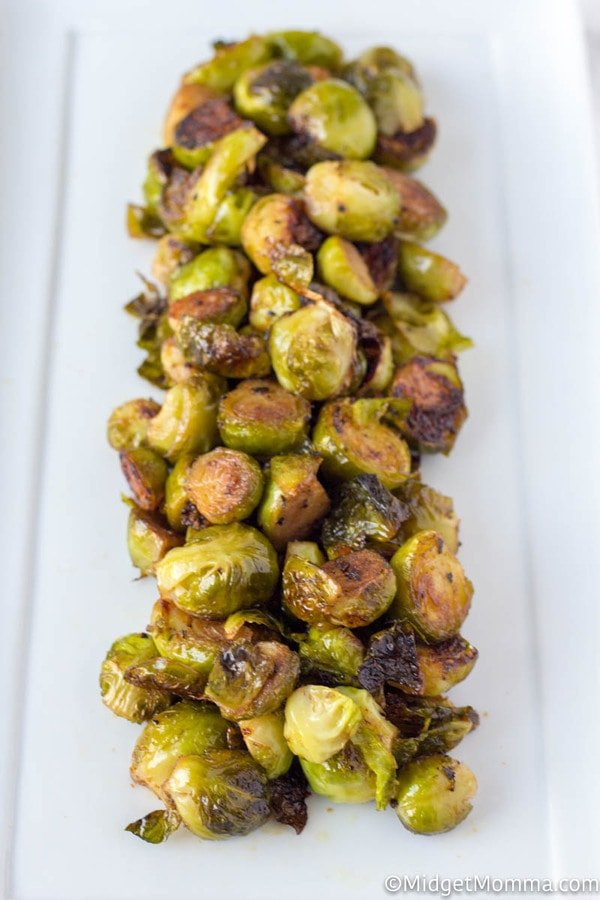Easy Oven Roasted Brussel Sprouts Recipe