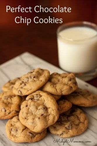 Perfect Chocolate Chip Cookies Recipes Pinterest | touchdownblue.com