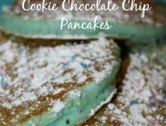 They taste just like a sugar cookie with white chocolate chips and they are AMAZING! After making just sprinkle some powdered sugar on top.