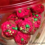 Holiday Chocolate Bites Cookies glad holiday containers
