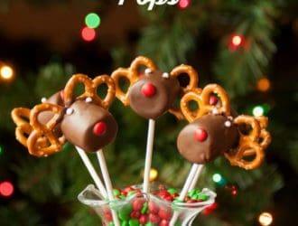 Reindeer Marshmallow Pops