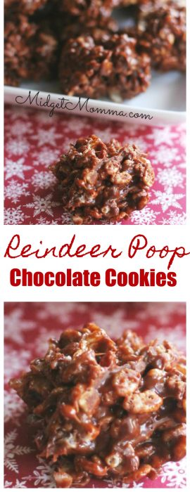 Reindeer Poop Cookies Recipe