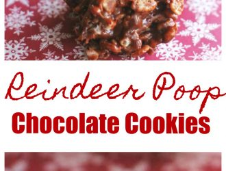 Reindeer Poop Cookies Recipe | christmas cookie recipe