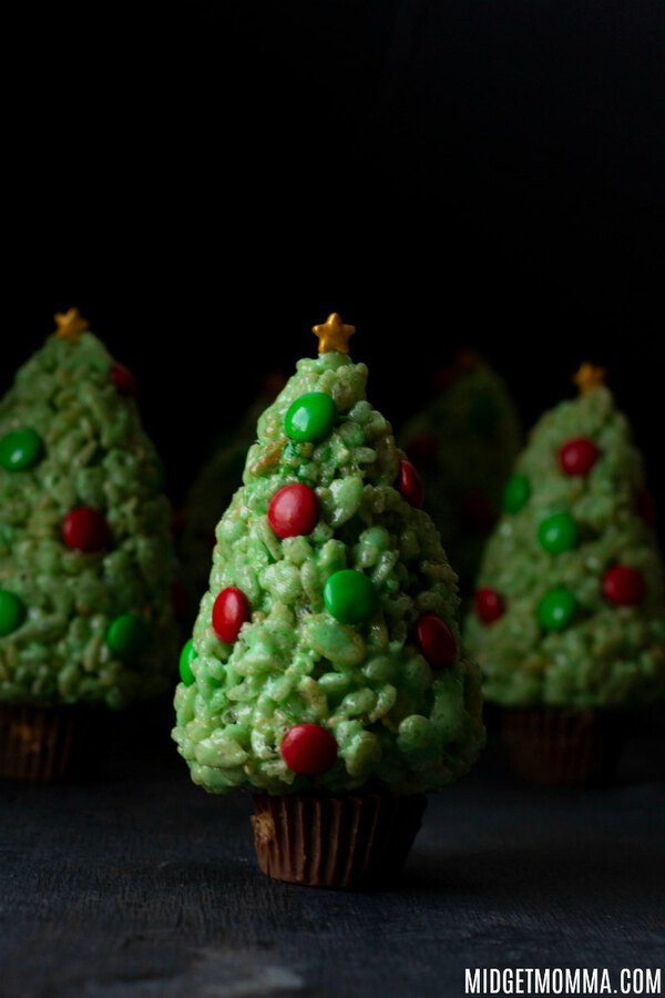Rice Krispie Christmas Tree