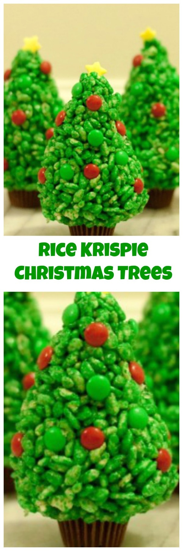 Cake Trees Rice Crispier Candy Clay