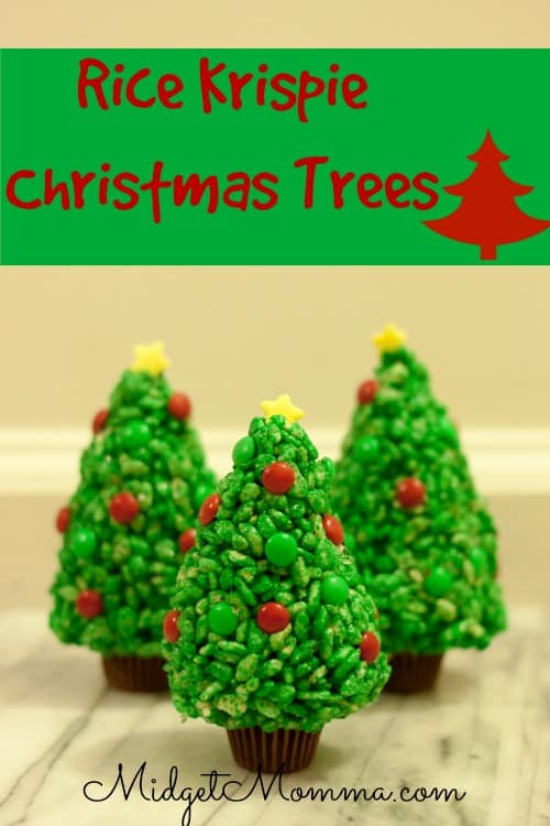 Rice Krispie Christmas Trees are a fun treat you kids will love. It is so easy your kids can even get in the kitchen and help you make them.