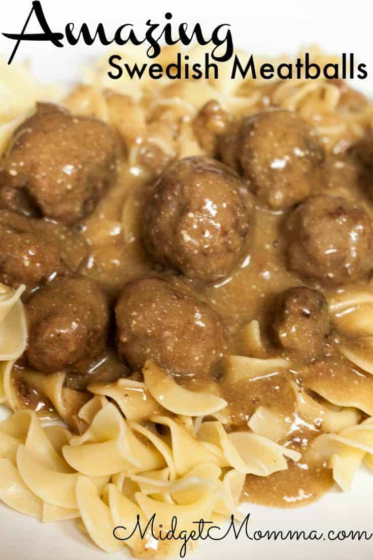 Swedish Meatballs Recipe | Easy Dinner Recipe