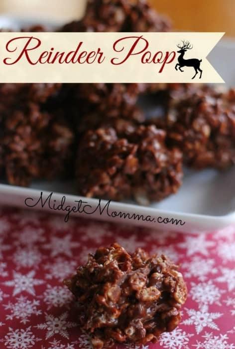 christmas cookie recipe reindeer poop