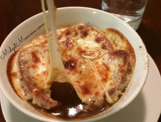 This French Onion Soup will make your guest feel like you spend a lot of time making it. It is actually a simple soup with rich full beefy flavor.