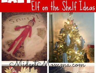 Lazy Mom Elf on the shelf Ideas
