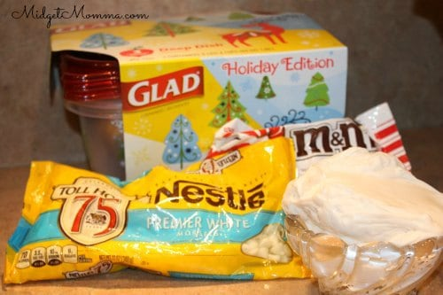 White Chocolate Fudge Ingredients