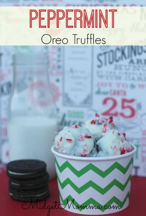 Get ready for an explosion in your mouth of peppermint and Oreo flavor with this super yummy Peppermint Oreo Truffle Recipe. They are super simple to make.