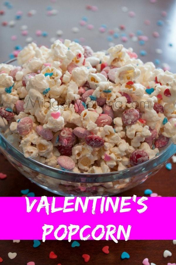 Valentine S Popcorn With Homemade Popcorn Midgetmomma