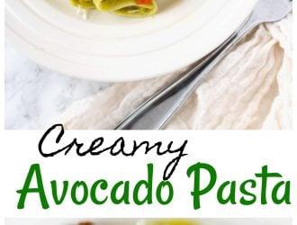 Creamy Avocado Pasta | Dinner recipe