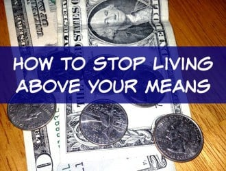 31 Ways to Save $100 a Year: Stop living above your Means (Day 13)