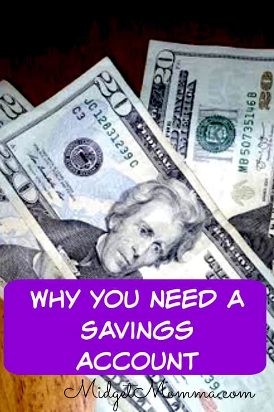why you need a savings account