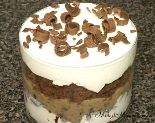 Chocolate Crunch Trifle dessert