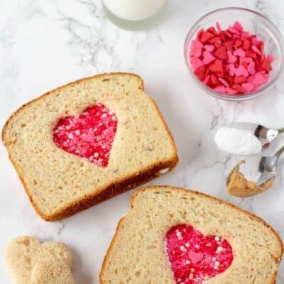 Peanut Butter and Love Sandwich