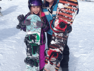 Things to do in the Poconos | Winter Fun at Camelback & Celebrating McKenzie's Birthday with a Mommy & Me day!