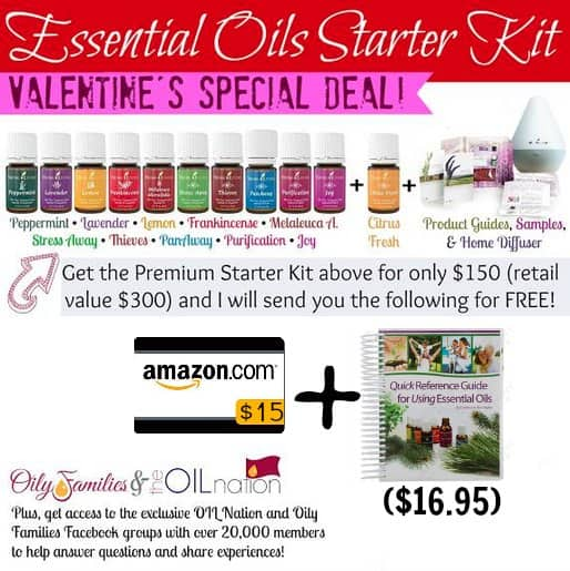 young living valentines day deal
