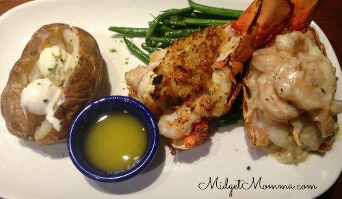 Dual lobster red lobster lobsterfest